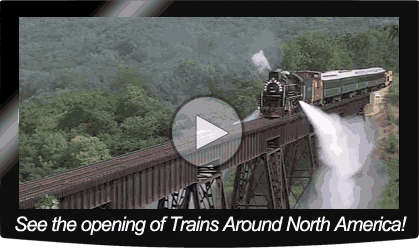 Trains Around North America